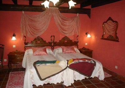Habitación Castanuelas Posada Naciebro, Fontibre