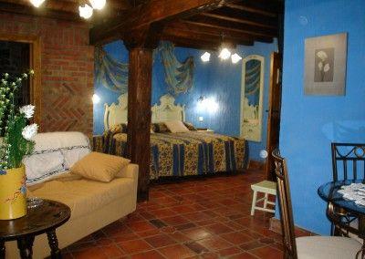Habitación Pandereta Posada rural Naciebro, Fontibre