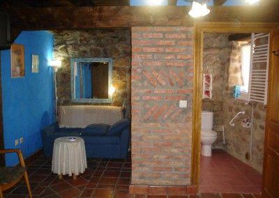 Habitación Tres Mares Posada rural Naciebro, Fontibre