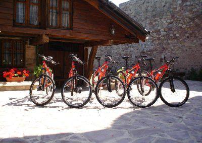 Posada Naciebro - rutas en bici